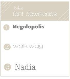 2 free fonts :)