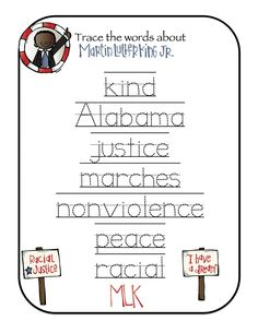 7 Best Preschool Theme Martin Luther King Jr Day Images Martin