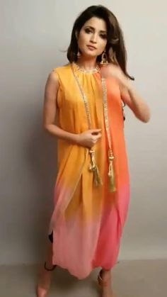 Dress Indian Style, Indian Fashion Dresses, Indian Designer Outfits, Fashion Outfits, Beautiful Dress Designs, Stylish Dress Designs, Designs For Dresses, Saree Wearing Styles, Stitching Dresses