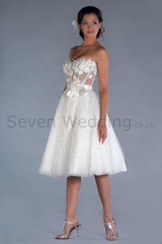 So cute wedding dress