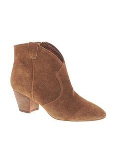 Ash | Ash Spiral Camel Western Boots at ASOS