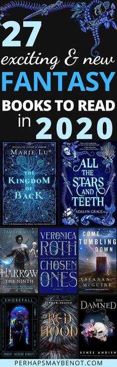 27 Highly Anticipated Fantasy Books of 2020 - - Take a seat and start adding these exciting and highly anticipated fantasy books of 2020 to your to-be-read list! Ya Books, I Love Books, Good Books, Book Suggestions, Book Recommendations, Reading Lists, Book Lists, Reading Books, Fantasy Books To Read