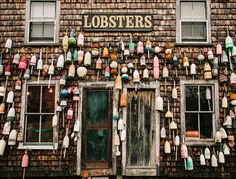 """A guide to Maine """"Lobster Trail,"""" as it is sometimes called, which includes some…"""