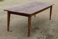 barn board farm table