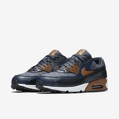 700155-404 Nike Air Max 90 Thunder Blue(3)
