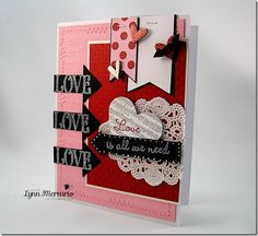 All You Need is Love - created for the Waltzingmouse Stamps January Blog Party!