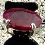 Burma Ruby Necklace by Ava Alexander
