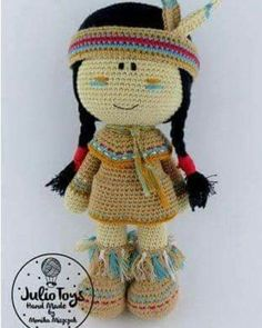 Irresistible Crochet a Doll Ideas. Radiant Crochet a Doll Ideas. Crochet Doll Pattern, Crochet Toys Patterns, Amigurumi Patterns, Amigurumi Doll, Crochet Dolls, Doll Patterns, Cute Crochet, Crochet Crafts, Crochet Projects