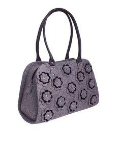 SALE Beauty Tote Bag in Grey Diaper bag Women Tote Bag by volaris
