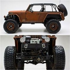 Rusted Terra Crawler 1969 Jeepster Commando. #jeep #truck #tw
