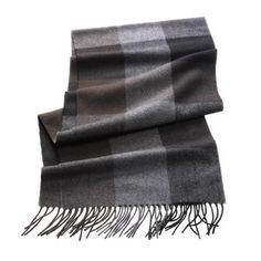 Cashmere Scarf- Block Patterned  #Fashion #Outerwear #Deals