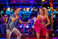 Strictly Come Dancing week 10, 2015. Kellie Bright & Kevin Clifton. Salsa. Credit: BBC / Guy Levy