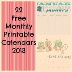 free-monthly-printable-calendars