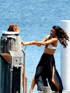 THE cast and crew of American Soap, The Bold and The Beautiful took over Manly Wharf to film dramatic scenes for the show's Australian episodes.