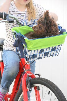 Bike Basket Liner DIY