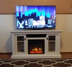 16 Best Electric Fireplace Tv Media Consoles Images Electric