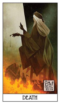 Dark Souls fan art: death