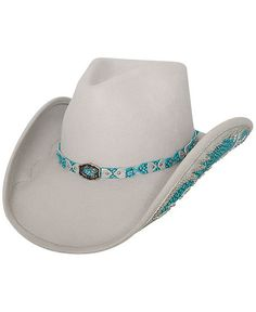 Bullhide Grey Natural Beauty Wool Cowgirl Hat a9049f2cde07