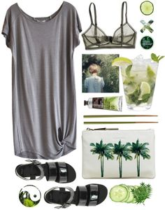 """No Breeze"" by purite ❤ liked on Polyvore"