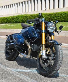 BMW R1200 'diva' custom motorcycle by giulio paz design