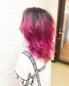 WEBSTA @ yucha403 - MANIC PANIC style.Rose pink color@manicpanicnyc.#hair #haircolor #hairstyle #bleach #pinkhair #manicpanic #hairofinstagram #disney #hairsalon #hairideas #hairpainting #tokyo #anime #japan #Mermaidians #neon  #pastelhair #vividhair #yuchaso #Photoshoot #Photography #マニックパニック #マニパニ #devilhair #hb4l