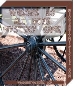 Wagons Ho All Boys Western Themed Cowboy Mystery Game Party by WhodunnitMysteryGame on Etsy