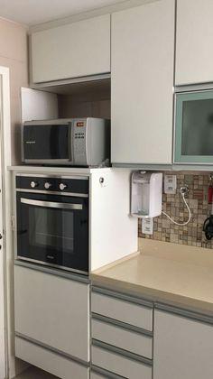 Kitchen Cabinets, Kitchen Appliances, Happy Kitchen, Wall Oven, Modern Interior, Modern Kitchens, Master Bedrooms, Furniture, Home Decor