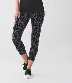 448c457c80e666 wunder under crop hi rise//ziggy snake slate coal Lululemon Athletica,  Athletic Outfits