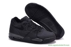 All Preto Nike Air Flight 89 Leather produtos de basquete