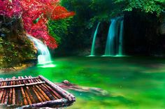 Double Waterfall , Pinoy , The Philippines