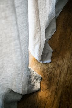 Barn & Willow's Modern Bohemian Bedroom | SF Girl By Bay | Belgian Flax Linen - Mist Grey