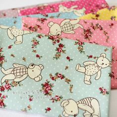 A personal favorite from my Etsy shop https://www.etsy.com/listing/210477166/k94855-bears-cotton-linen-half-yard-6