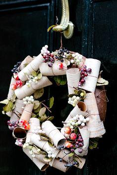Türkranz aus London  - Munter mitgereist.... Weihnachten in London mit Christine Jütte Photography   Hochzeitsblog - The Little Wedding Corner