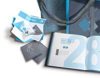 Self-Branding & Undergraduate Portfolio by Syndel Klett, via Behance