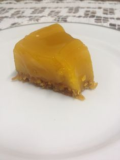 Quindim ((brazilian delicious dessert with toasted coconut).