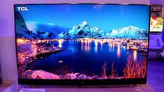 TCL 49S405 49-Inch 4K Ultra HD Roku Smart LED TV TCL, one of the world's largest TV manufacturers in the world and America's fastest growing TV brand, bring the latest in 4K technology and design. The S-Series 4K TCL Roku TV delivers stunning Ultra HD picture quality with four times the resolution of Full HD for enhanced clarity and detail, as well as the most streaming channels of any 4K TV. #afflink Large Tv, 4k Uhd, Hd Picture, Smart Tv, Best Tv, Hdr, Worlds Largest, Clarity