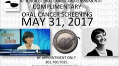 Dr  Claudia C Cotca PSA 2017 Oral Cancer Screening @dclaserdentist