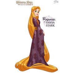 Disney Princesses As Game Of Thrones Characters Geekologie ❤ liked on Polyvore featuring disney, disney princess, game of thrones and filler