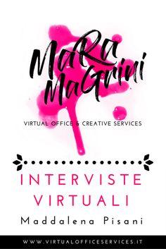 INTERVISTE VIRTUALI: Maddalena Pisani web design di siti belli e buoni