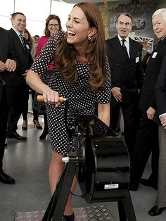 Princess Kate Sports Seven-Month Bump in Portsmouth| Kate Middleton, Prince George, Prince William