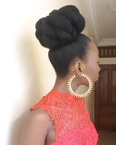8 Ways to Rock Your Natural Hair in a Bun Kinky Hair Rocks Natural Afro Hairstyles bun Hair Kinky Natural Rock Rocks Ways Protective Hairstyles For Natural Hair, Natural Hair Braids, Natural Hair Care, Natural Hair Styles, Natural African Hair, Natural Black Hairstyles, Natural Hair Wedding, Natural Updo, Kinky Hair