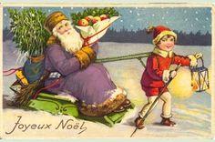Mundo de Cissa: Cartões de natal antigos