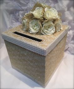 wedding card box money holder envelope holder gold wedding box gold lace wedding card holder envelope holder