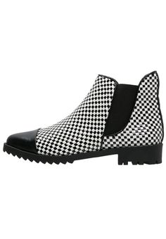 gx by Gwen Stefani TYCOON Ankle Boot black white für Damen - Sportlich,  Herrenschuhe 9b75fc4c9c
