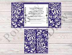 Template wedding,Wedding Envelope SVG Laser Cut Template Lace Wedding Laser Cutting Commercial Use Silhouette Cameo LC15 by PoliDraw on Etsy