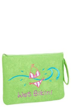 This wet bikini bag is a summer essential for sure!