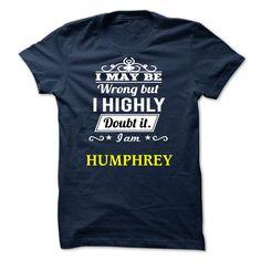 HUMPHREY - I may be Team