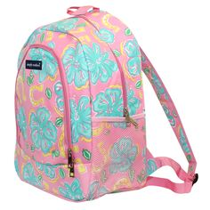 b85cd6924cd Simply Southern Hibiscus Backpack  simplysouthern  southern  backpack   bookbag Simply Southern