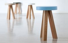 Design by Nathan Yong.A new and modernised family of seats and accessories designed in Singapore and made in Europe with solid oak.