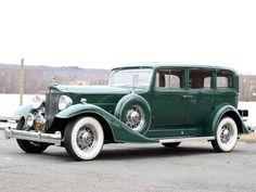 1933 Packard Super Eight 7-passenger Sedan (1004-654) '01—07.1933